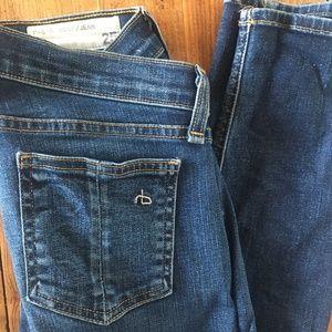 Rag & Bone Skinny Jeans in Woodford